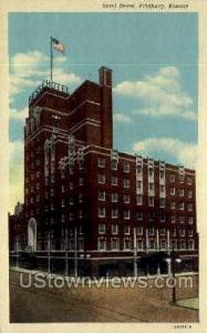 Hotel Besse Pittsburg KS Unused