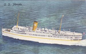 Oceanliner/Ship/Steamer FLORIDA, 1930-1940s