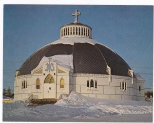 Igloo Church , Inuvik , N.W.T., Canada , 50-60s