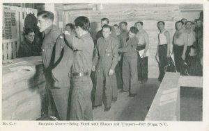 FORT BRAGG , North Carolina , 1941 ; Reception Center