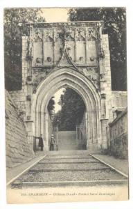 Chateau Ducal, Portail Saint-Dominique, Chambery (Savoie), France, PU-1919