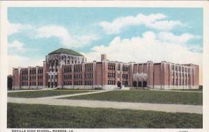 Street view showing Neville High School, Monroe, Louisiana, 00-10s