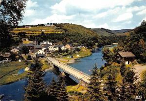 Belgium La Roche en Ardenne Maboge Bridge River Pont