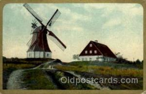 Windmills Postcard Post Cards, Old Vintage Antique