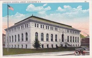 Carpenter Memorial Library Manchester New Hampshire