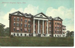 1907 - 1915 Memorial Hospital Elyria, Ohio