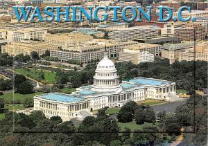 USA Washington D.C. U.S. Capitol Building Auto Cars General view