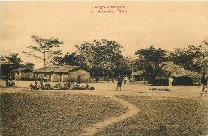 FRENCH CONGO A LOUDIMA - NIARI village