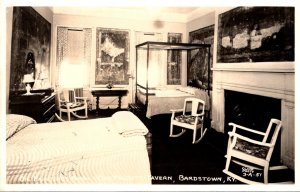 Kentucky Bardstown Old Talbot Tavern Old Painting's Room Real Photo