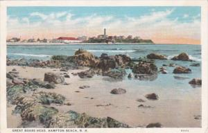 Hew Hampshire Hampton Beach Great Boars Head 1927 Curteich