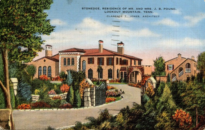TN - Chattanooga, Lookout Mountain. Stonedge Residence