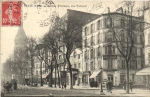 CPA Paris 14e (Dep.75) - Avenue d'Orléans, rue Thibault (56479)