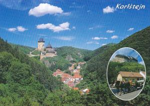 Czech Republic Karlstejn Panorama