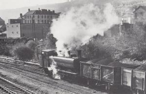 Mountain Ash South Wales 1973 Ameraman Plant Welsh Coal Industry Train Postcard