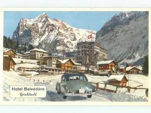 Switzerland Hotel Belvedere Grindelwald Postcard # 6441