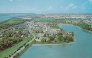 Our Lady of the Lake Hospital, Seen From the Top of State Capitol, BATON ROUG...