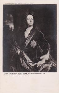John Churchill First Duke Of Marlborough