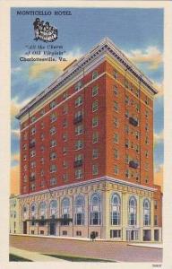 Virginia Charlottesville Monticello Hotel