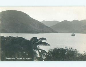 old rppc NICE VIEW Kerepuru Sound - Picton & Havelock New Zealand i1933