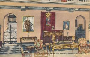 Living Room at John Ringling Mansion - Sarasota FL, Florida - Linen