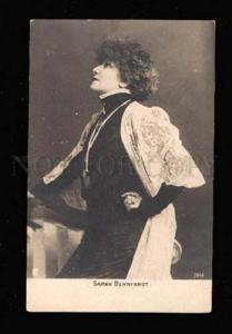 014986 Sarah BERNHARDT French DRAMA Actress JEWISH old PHOTO