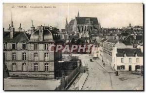Old Postcard Vannes General view East District