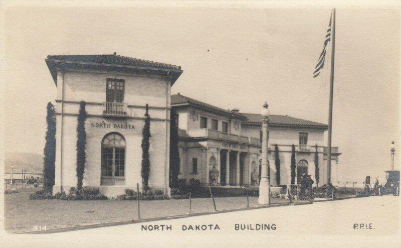 RP: SAN FRANCISCO, Ca., 1915 ; PPIE ; North Dakota Building