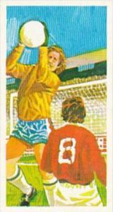 Brooke Bond Trade Card Play Better Soccer No 16 The High Catch