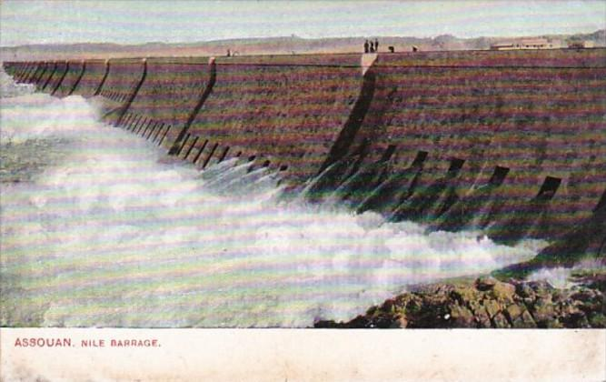 Egypt Assouan Nile Barrage
