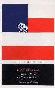 Thomas Paine Common Sense Book Postcard