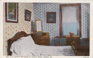 Illinois Galena Grant's Home General U S Grant's Bedroom Curteich