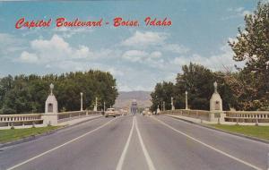 Memorial Bridge crossing Boise River,  Boise,  Idaho,   40-60s
