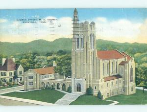 Linen CHURCH SCENE Knoxville Tennessee TN A9488