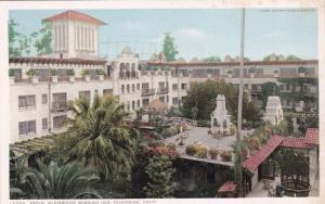 RIVERSIDE, California, 10-20s; Patio, Glenwood Mission Inn