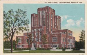 New Library, Fisk University, Nashville, Tennessee, PU-1954