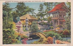 California San Francisco Japanese Tea Garden Golden Gate Park