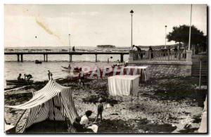 Andernos les Bains Postcard Modern Basin & # 39Arcachon Promenade and pier