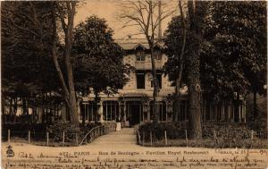 CPA PARIS 16e-Bois de Boulogne-Pavillon Royal Restaurant (326484)