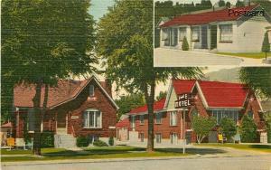 UT, Provo, Utah, V & E Motel, Multi View, E.B. Thomas, No. E-10727