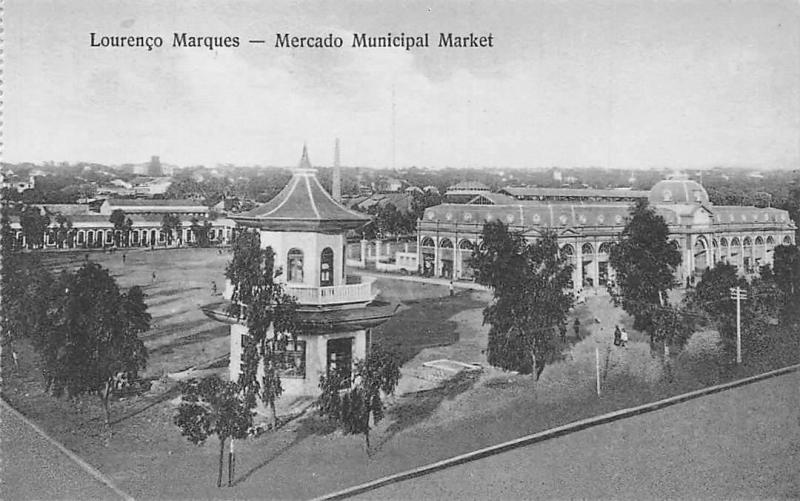 Mozambique Mozambic Maputo, Lourenco Marques - Marcado Municipal Market