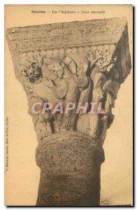 Old Postcard Saulleu The Capitals Jesus resurrects