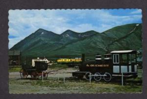 Duchess Railroad Train Carcross YUKON Postcard Canada