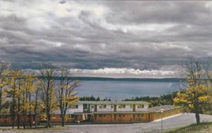 Motel, Fundy National Park, New Brunswick, Canada, 40-60s