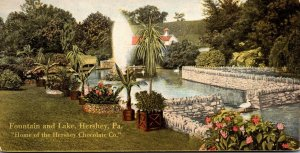 Pensylvania Hershey Fountain and Lake Hershey Chocolate Company