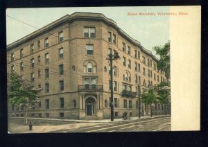 Worcester, Massachusetts/MA/Mass Postcard, Hotel Standish