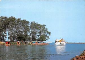 Hungary Udvozlet a Balatonrol Balaton Lake Boats Camping Place