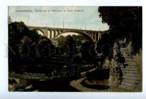 158212 LUXEMBOURG Vallee de la Petrusse & BRIDGE Pont Adolphe