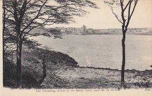 France Dinnard The Voscounty Mouth of the Rance river View of St Servatt