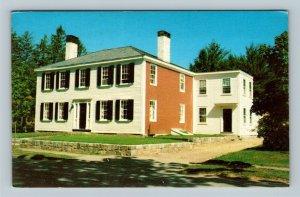 Cohasset MA, Caleb Lothrop House, Chrome Massachusetts Postcard