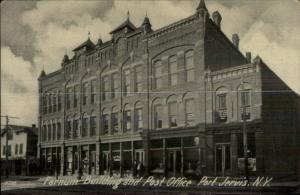 Port Jervis NY Farnum Bldg c1910 Postcard